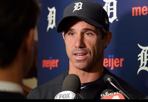 Tigers manager talks about pinch-hitting Alex Avila in the ninth inning and reliever Justin Wilson giving up two runs in the 10th.