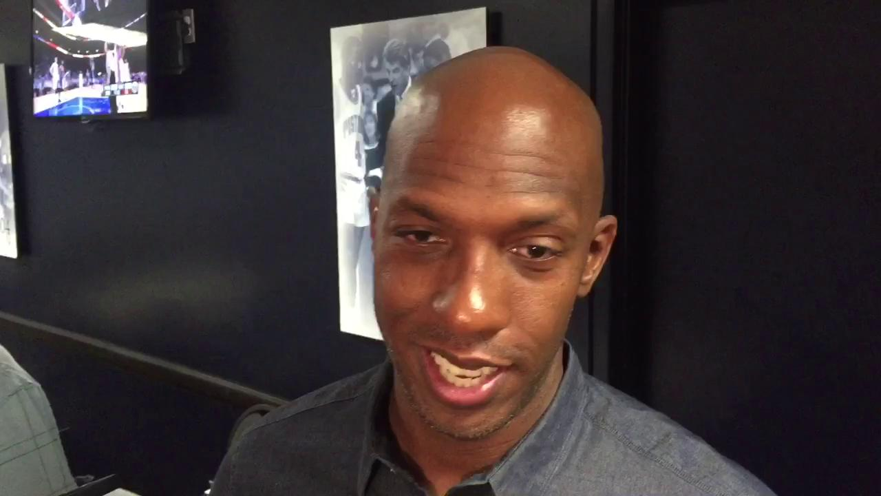 Former Pistons teammates Chauncey Billups and Richard Hamilton on final game at Palace