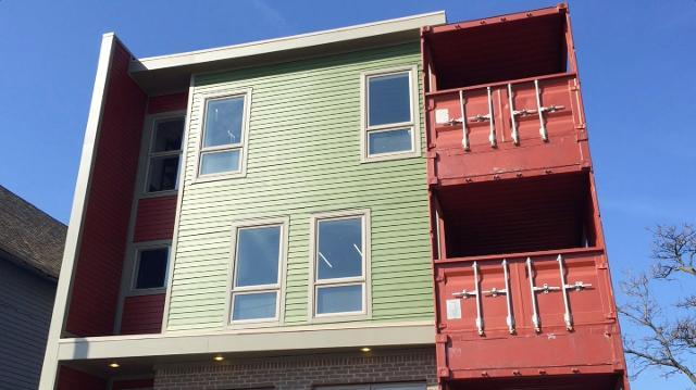 Shipping container condos come to Detroit