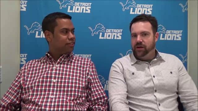 Detroit News writers talk about the Lions' selections of Florida cornerback Teez Tabor and Northern Illinois receiver Kenny Golladay.