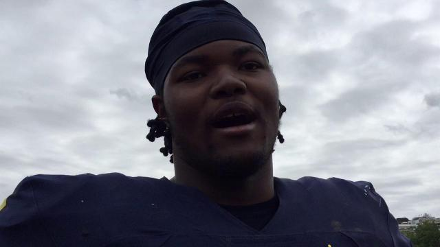 UM's Rashan Gary on getting better