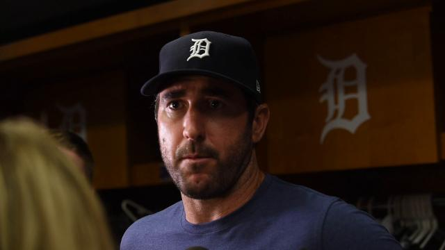 Verlander talks about his five-hit, eight-strikeout performance in Thursday's 2-1 loss.
