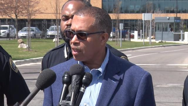 Chief James Craig says the police know there were 8 African-American men involved in Saturday's brawl in a Greektown street, and their vehicles and license plates have been identified. 'Do yourself a favor, turn yourself in,' he said