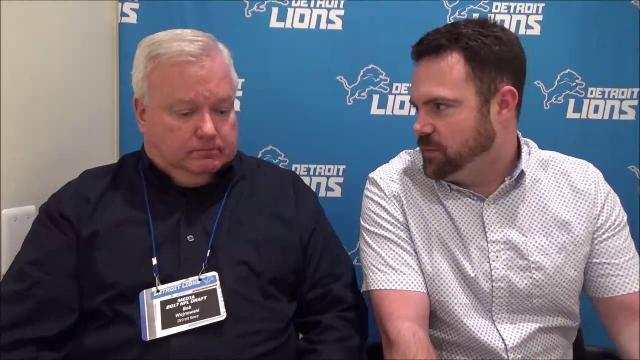 Rogers and Wojo discuss Lions' first-round selection Jarrad Davis
