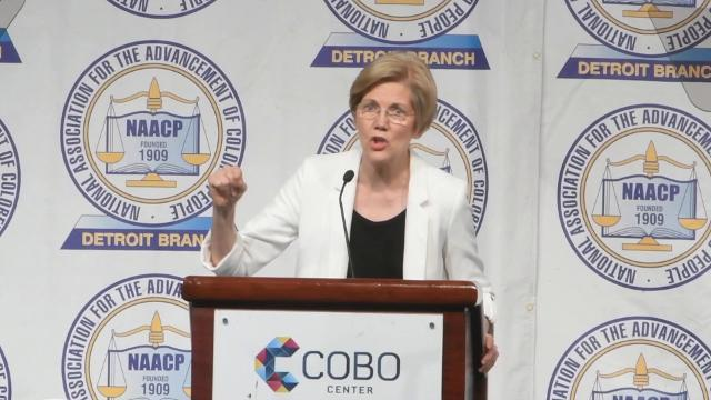 Elizabeth Warren's speech to the NAACP