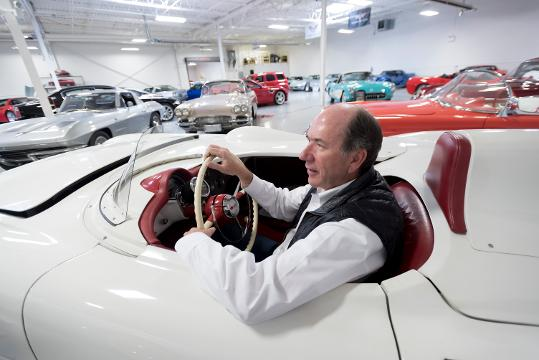 The owner of Lingenfelter Performance Engineering talks about his passion for cars and causes, and how his collection grew from 50 cars in 2003 to 280 today.