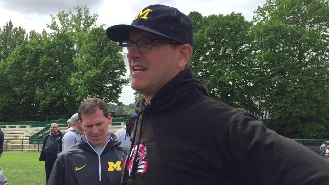 Jim Harbaugh on the one language of football