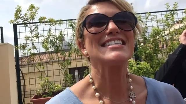 Sarah Harbaugh describes 'amazing' meeting with pope