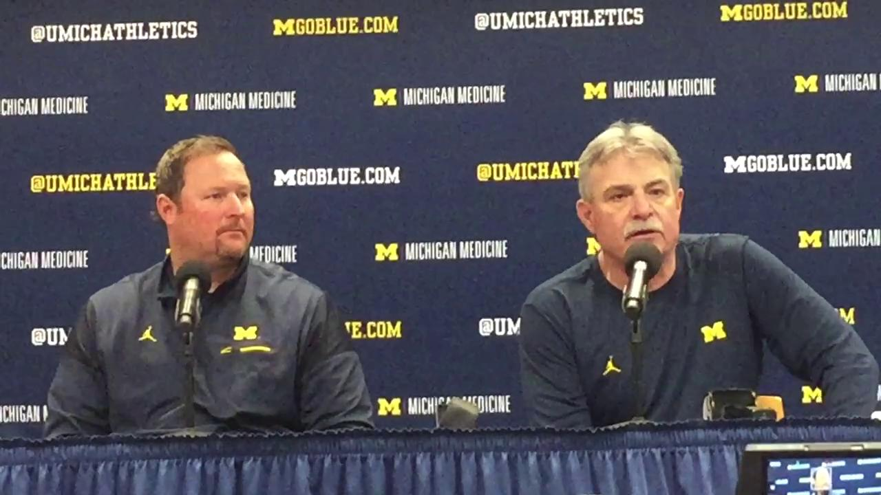Michigan defensive coordinator Don Brown shares his outlook on Wolverines' defense.