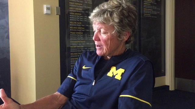 UM coach Carol Hutchins on team's mindset