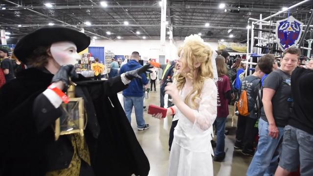 Once again the Suburban Collection Showcase is transformed into the Motor City Comic Con.  The three day event celebrates all aspects of fantasy and pop culture including science fiction, anime, horror, wrestling as well as comic books.