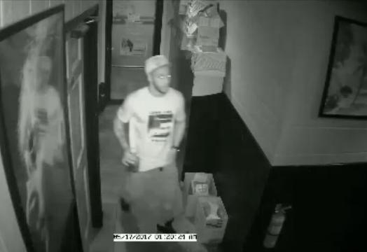 Surveillance video of homicide suspects