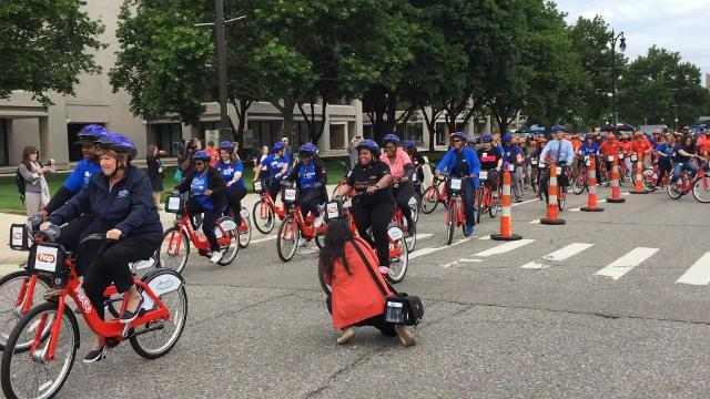 MoGo Launches bike share program in Midtown, Detroit
