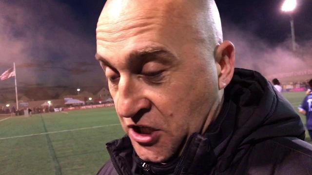 Milwaukee coach Andreas Davi on Friday's match