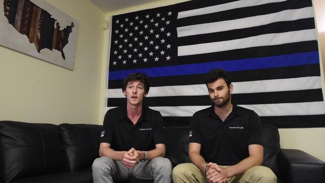 Entrepreneurs Andrew Jacob and Peter Forhan talk about the rewards of raising money for the families of fallen officers through their business, Thin Blue Line USA.  Wayne State Officer Collin Rose's death was a catalyst for a nationwide effort.