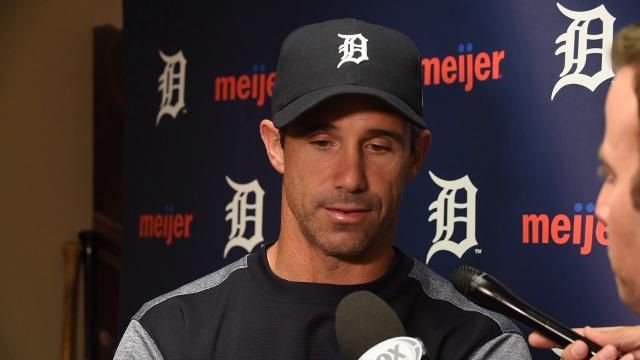 Tigers manager Brad Ausmus on the loss to the Orioles