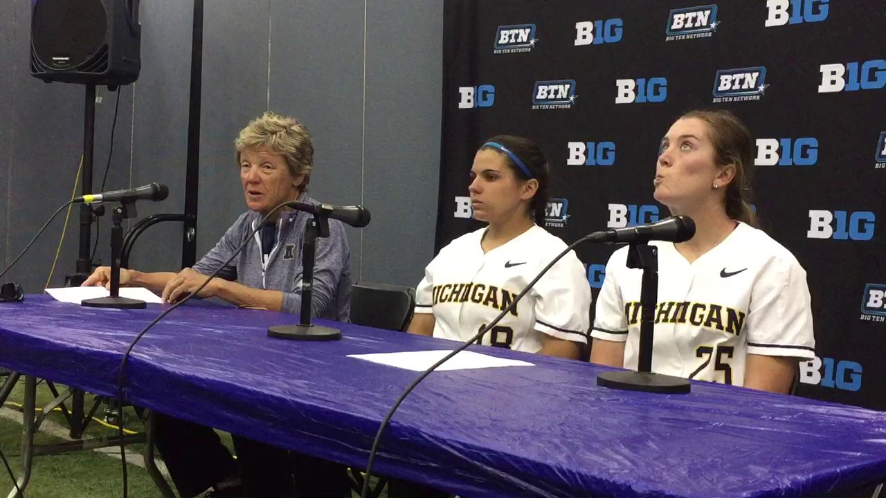 "Hutchins said she told MSU to ""win it all"" at the Big Ten tournament."