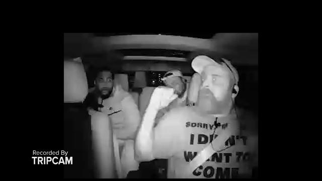 Two suspects are at large after firing shots at Lyft driver Nick Hall in Detroit. Hall refused to transport them after suspecting illegal activity.