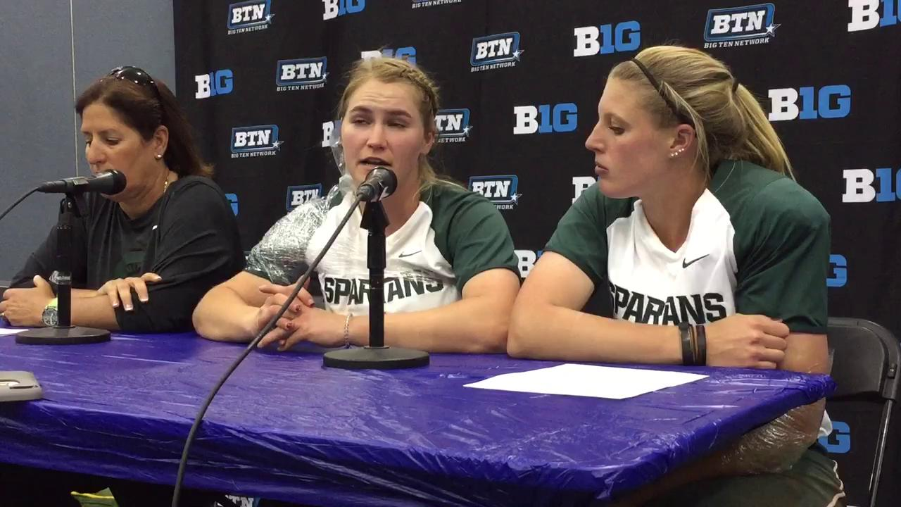 Lea Foerster on whether mental fatigue played a role in the Spartans loss to the Buckeyes.