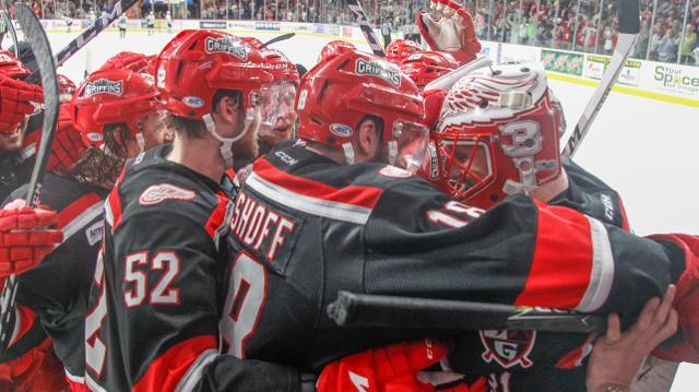 Jared Coreau on Griffins game, series win over San Jose