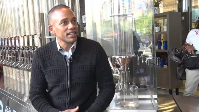 The new owner of the Detroit outlet of Roasting Plant coffee, Hill Harper talks about his vision for his new business and the city of Detroit.