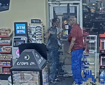 "Investigators have connected two of the suspects to two incidents at a store in the 12700 block of Schaefer. In the first, about 8 p.m. May 6, a man ""entered the business with who appears to be a disabled young male."""