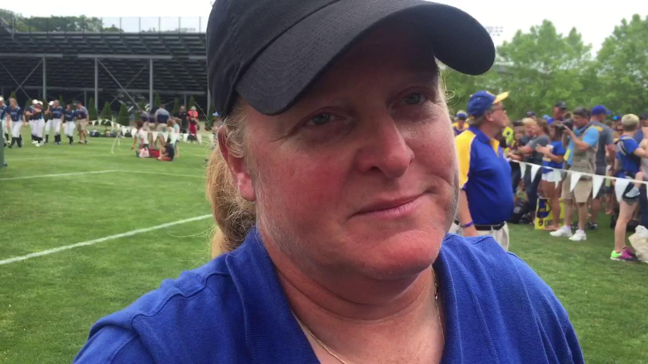 Ida coach Dawn Forter talks about her emotional, state championship team.