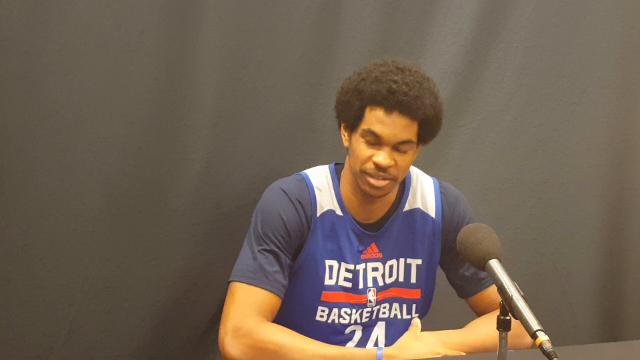 Jarrett Allen on his workout with the Pistons