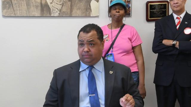 State senator and mayoral candidate Coleman Young II calls for a special prosecutor to look into the Detroit Land Bank and Detroit Mayor Mike Duggan's involvement.