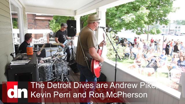 """The Front Porch – A Day of Music On Ferndale Porches"" is a one-day music event created to showcase Michigan music artists, Saturday afternoon, June 24, 2017."