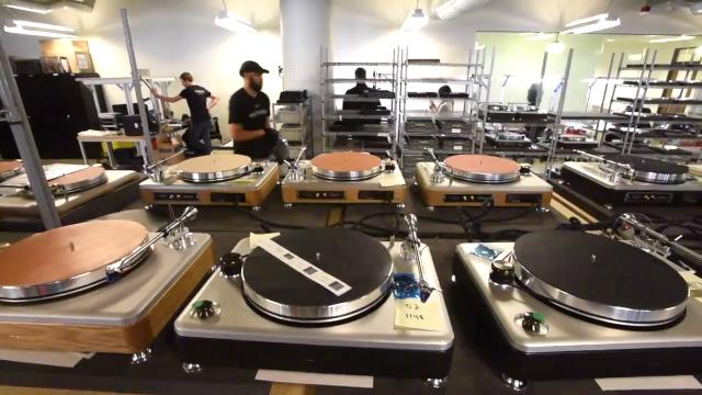 Take a spin inside Shinola's Detroit turntable factory.