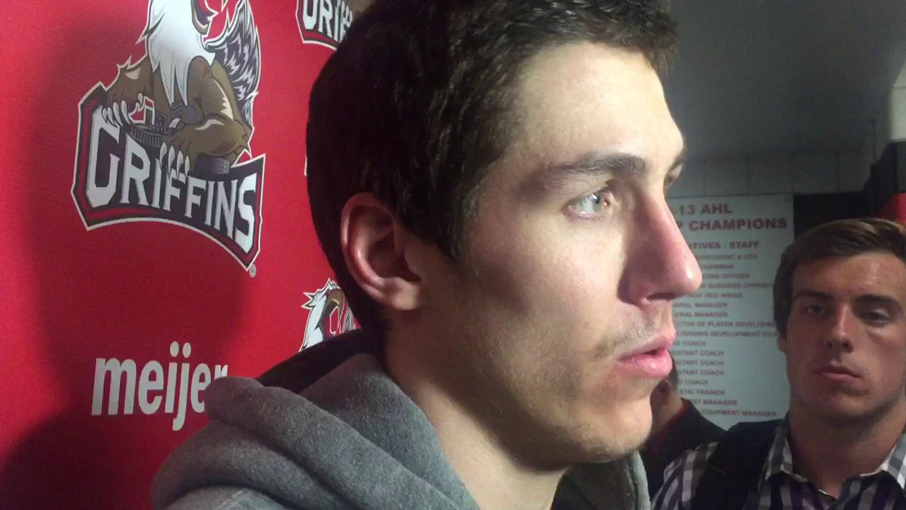 Griffins forward Tomas Nosek feels his team needs to be better in Game 2 of the Calder Cup Finals.