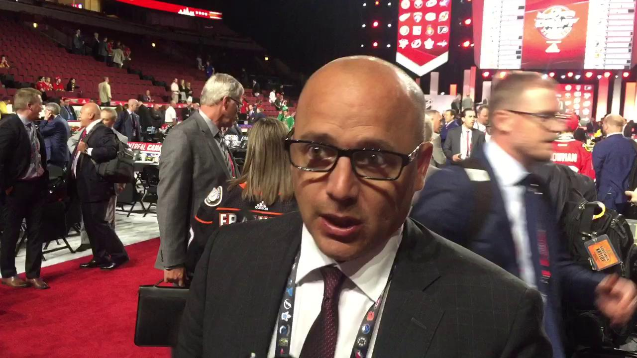 Tyler Wright, the Red Wings' director of amateur scouting, talks about the NHL Entry Draft weekend.