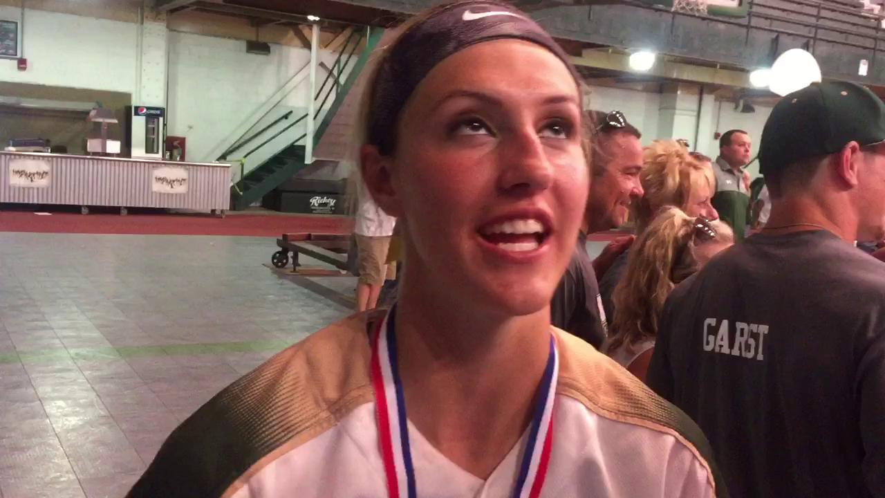 Monroe St. Mary Catholic Central pitcher Meghan Beaubien on winning three straight state championships.