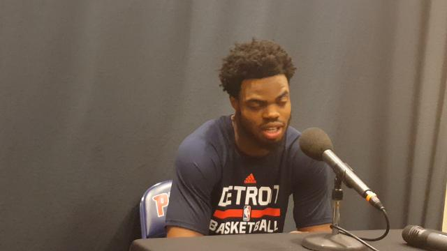 Former Michigan star Derrick Walton Jr. talks about how the combine helped him, and his workouts for NBA teams.