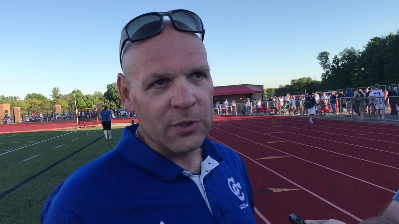 C.C. lacrosse coach Dave Wilson on his team's fourth straight trip to the Division 1 finals.