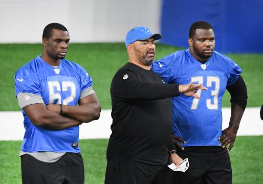 The Detroit Lions traded for Greg Robinson and signed Cyrus Kouandjio; both are offensive tackles.